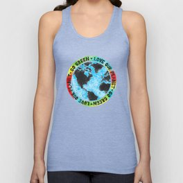 Love Our Planet Go Green Unisex Tank Top