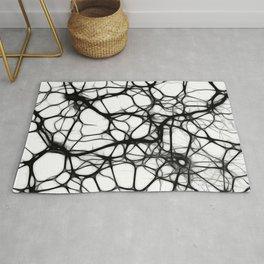 Black neurons Rug