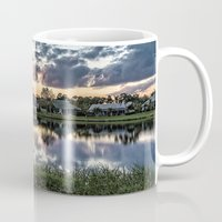 florida Mugs featuring Florida Sunset by Photos By Healy