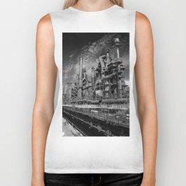 Bethlehem Steel Blast Furnace 9 Biker Tank