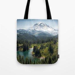 Mountain, Scenic, Rainier, Eunice Lake, National Park, Parks 2016 Tote Bag
