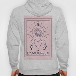 L'Amoureux or The Lover Tarot Hoody