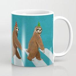Sloth the Abbey Road Coffee Mug