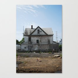Rockaway Beach House Canvas Print