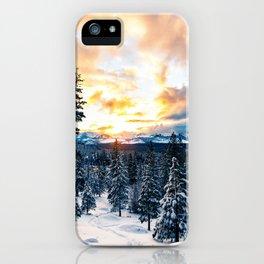 winter vibes #society6 #decor #buyart iPhone Case