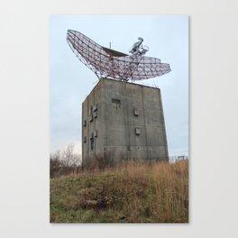 Camp Hero Radar Tower Canvas Print