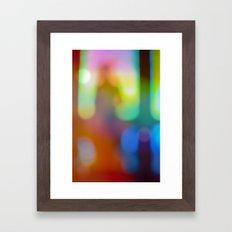 Imma Stranger Myself Here Framed Art Print