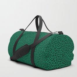 LEOPARD PRINT in GREEN | Collection : Leopard spots – Punk Rock Animal Print Duffle Bag