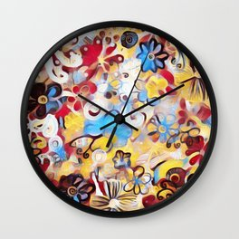 Modern Prints Wall Clock