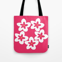 Pink Plumeria Lei (Pink) Tote Bag