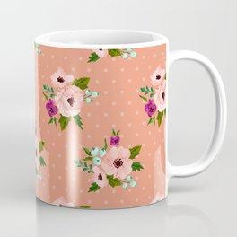 Watercolor Flower Coffee Mug