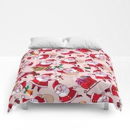 Santa Gift Pattern Comforters