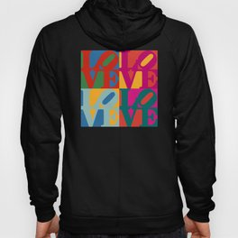 Love Pop Art Hoody