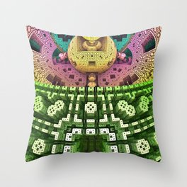 Brain 6 Throw Pillow