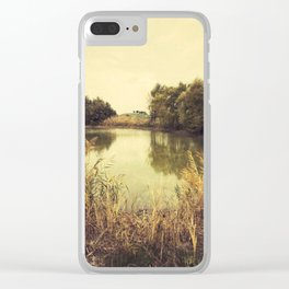 Small lake Clear iPhone Case