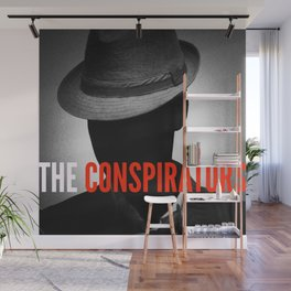 The Conspirators Podcast Show Art Wall Mural