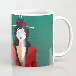 Vector Geisha (Turning Japanese) Coffee Mug