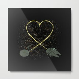 Wars Love Metal Print