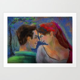 Love Out Of Hands Art Print