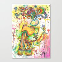 surrealism Canvas Prints featuring surrealism by NastyaWait