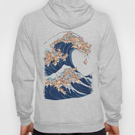 The Great Wave of Chihuahua Hoody