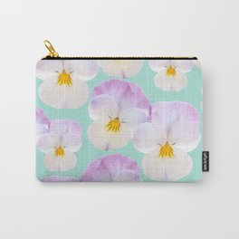 Pansies Dream #1 #floral #pattern #decor #art #society6 Carry-All Pouch