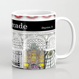 The Arcade of Dayton, O: A Mug Coffee Mug