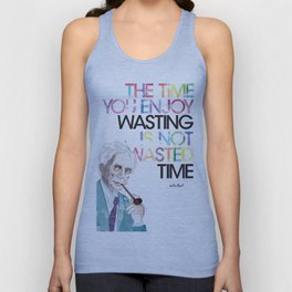 Wasted Time Unisex Tank Top