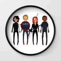 cargline Wall Clocks featuring It was only a matter of time by cargline