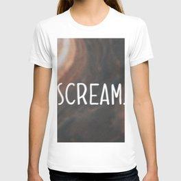 Anxiety Series: Scream T-shirt