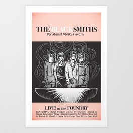 The Blacksmiths ANALOG zine Art Print