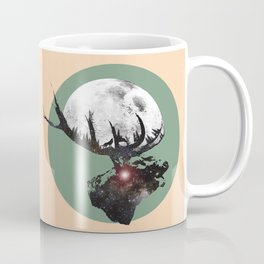 Majestic Space Elk Coffee Mug