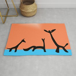 Les Animaux No. 2 of Series 4 Rug