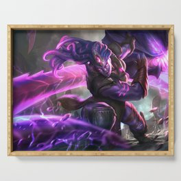 Void Bringer Illaoi League of Legends Serving Tray