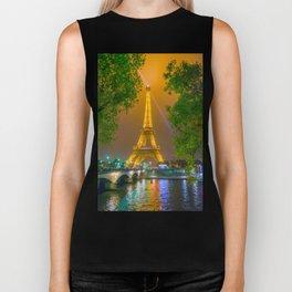 Eiffel Tower Biker Tank