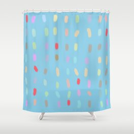 Paint Swatches Shower Curtain
