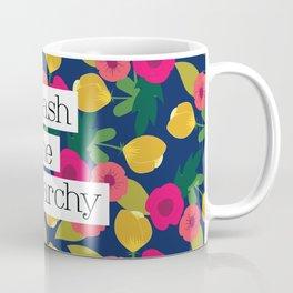 Smash the Patriarchy Floral Coffee Mug
