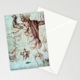 Michelangelo Buonarroti Studies for Libyan Sibyl Stationery Cards