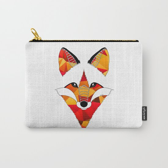 Fire Fox Carry-All Pouch