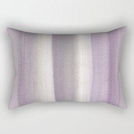 Purple Gray Watercolor Dream #1 #painting #decor #art #society6 Rectangular Pillow