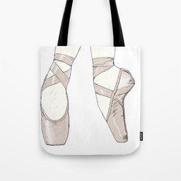 Ballet Pumps Tote Bag