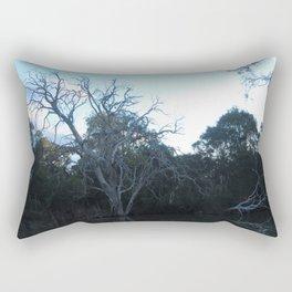 Dead Tree From Across The River Rectangular Pillow