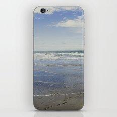 Blue reflection iPhone & iPod Skin