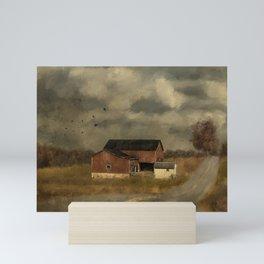 The Coming On Of Winter Mini Art Print