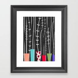 Wild Plants Framed Art Print