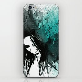 This Confession Means Nothing: Turquoise iPhone Skin