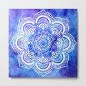 Mandala Blue Lavender Galaxy by vintageby2sweet