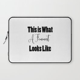 I Am a Feminist Laptop Sleeve
