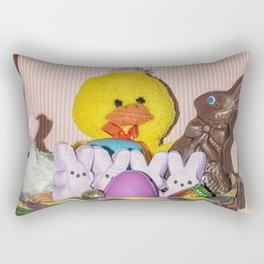 Easter Basket Rectangular Pillow