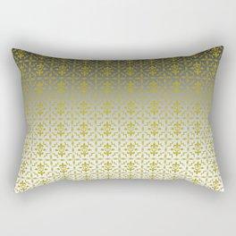 Rebel Damasco blacksilver Rectangular Pillow